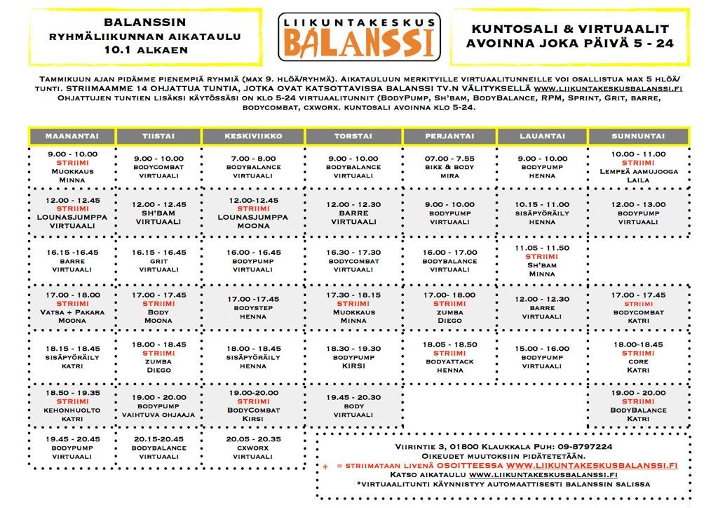 Balanssi Klaukkala